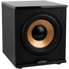 BIC America H100II 12 Enclosed Powered Subwoofer Front Firing 500w Max Bash Amp