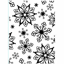 Snowflakes Darice Embossing Folder for Cardmaking, Scrapbooking, etc