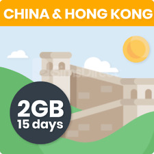 Greater China & Hong Kong 15 Days Travel SIM Card | 2GB Data | China Unicom