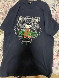 Mens Navy Kenzo T-shirt Size S