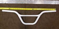 White schwin pro yo handlebars old BMX vintage pro freestyle bike 20 gt cw hutch
