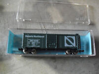 N Scale Atlas Ontario Northland 40' Box Car 3223 Mint in Box
