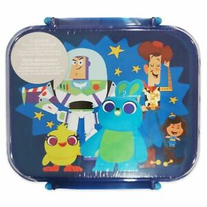 Disney Authentic Toy Story 4 Food Storage Container Set w/ Fork Spoon Buzz Woody