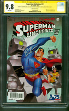 Superman Unchained 1 CGC 4XSS 9.8 Jim Lee Bruce Timm +2 1930's Variant 8/13