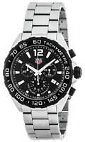 Tag Heuer Formula 1 Chronograph Black Dial 43MM Men's Watch CAZ1010.BA0842
