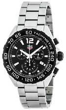 Tag Heuer Formula 1 Chronograph Black Dial 3 Row Links Men Watch CAZ1010.BA0842
