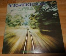 Yesterday + Orchester Studio Brno + instrumental LP Vinyl Schallplatte Amiga DDR