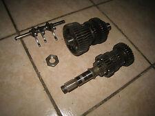 XV 750 Virago 4FY  Getriebe Motor  Wellen Schaltklauen gear engine transmission
