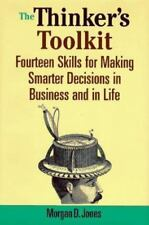 "NEW*UNOPENED* ""The Thinker's Toolkit~14 Skills 4 Making Smarter Decisions"" HC/DJ"