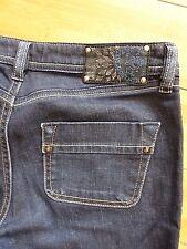 Diesel KINKEY Ankle Dark Blue Denim stretch Jeans size W28 L34 / 31 WASH 008AA