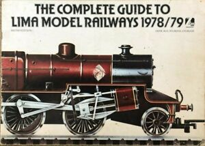 LIma Model Railway Catalogue Complete Guide 1978 1979