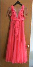 Beautiful Peach Smooth Standard Ballroom Dress