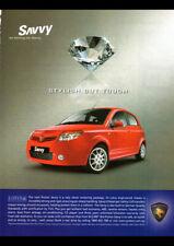 2006 PROTON SAVVY AD ART PRINT POSTER
