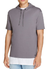 Hugo Boss Develand Short Sleeve Hoodie Sweatshirt, Size XL, MSRP $105