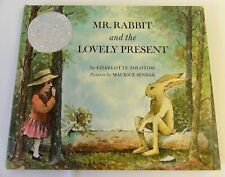 Mr. Rabbit and the Lovely Present by Charlotte Zolotow/ M. Sendak 1962 *SIGNED*