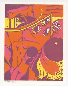 Maurice Henry original lithograph, 1967