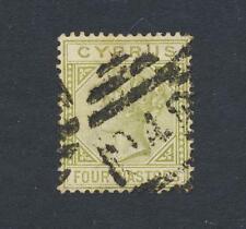 CYPRUS 1883, 4pi DIE 1, VF USED SG#20 (SEE BELOW)