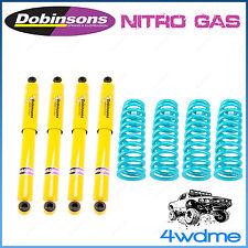 "Nissan Patrol GU Y61 Wagon 4WD Dobinsons Shocks & Coil Springs 6"" Lift Kit"