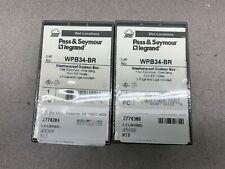 LOT OF 2 NEW  NO BOX PASS & SEYMOUR WEATHERPROOF OUTDOOR BOX WPB34-BR