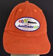 Orange Ebay Motors Auto Trader embroidered baseball hat cap adjustable strap
