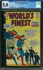 World's Finest Comics 148 CGC 5.0 -- 1965 -- Batman Superman Outlaws #2020900025