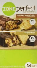 ZonePerfect Nutrition Bars, Fudge Graham/Chocolate Peanut Butter Combo. 1.76 OZ,