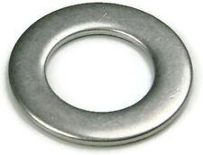 Stainless Steel Flat Washer Series 9C416L, 1/4 ID x .500 OD x 1/32 THK, Qty 250
