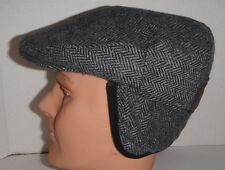 Woolrich cap wool blend Hat earlap Cap New grey small !