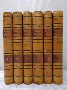 6 Volumes Tacitus / Tacite Lateinisch - Français - Lamalle - Michaud Paris 1818