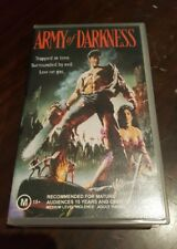 EVIL DEAD ARMY OF DARKNESS VHS