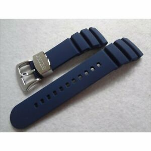 SEIKO Geuine Band for SSC489, SSC666, V195-0AB0 Blue Rubber Band 22 MM New