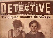 DETECTIVE n°425 albertville digard honoré GAL  / 1954