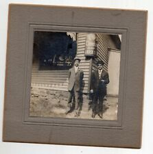 Vintage Photo Men Outside Cleveland Brewing Company
