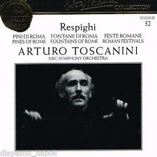 Toscanini Collection Vol. 32 - Respighi: Pini Di Roma, Fontane, Feste Romane CD