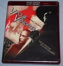 V FOR VENDETTA French Import For TOSHIBA HD DVD PLAYER Sealed Guy Fawkes RARE