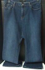 "Venezia Women's 18 Tall Medium Wash Stretch Flare Jeans~Inseam 32"""