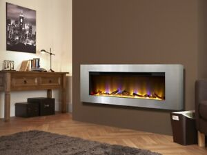 Electriflame VR Basilica - Wall Mounted Electric Fireplace