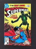 SUPERMAN #1 DC COMICS 1987 VF