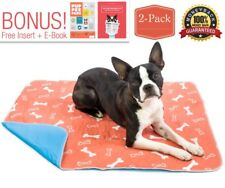 Washable & Reusable Pee Pads for Dogs - Puppy Training - (2-Pack) Medium 28 x 32