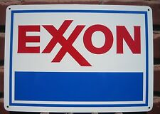 EXXON Gas Station metal sign Service GASOLINE Mobil Pump sign 10 DAY