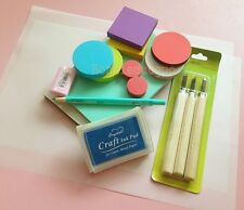 Hand Carve Rubber Stamp Tool Kit Rubber Carving Block/carving Knife/Eraser etcs
