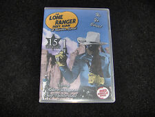 THE LONE RANGER RIDES AGAIN CLIFFHANGER SERIAL 15 CHAPTERS 2 DVDS