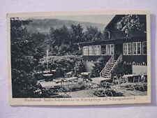 12241 AK Nieder Schreiberhau Dachsbaude mit Schneegrubenblick 1929 sehr selten