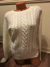 NWOT Old Navy Knit Sweater Women's Size M Cream