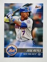 2017 Topps Bunt #158 Jose Reyes - NM-MT