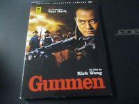 "RARE! COFFRET COLLECTOR 2 DVD DIGIPACK NEUF ""GUNMEN"" film Chinois de Kirk WONG"