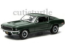 Greenlight Steve Mcqueen Bullitt Movie 1968 Ford Mustang GT Fastback 1:43 86431