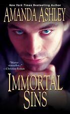 Immortal Sins - LikeNew - Ashley, Amanda - Mass Market Paperback