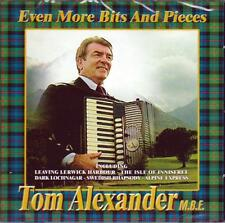 TOM ALEXANDER M.B.E. - EVEN MORE BITS AND PIECES (NEW SEALED CD)