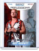 TNA Jeff Jarrett #9 2012 Reflexxions SILVER Parallel Card SN 33 of 40